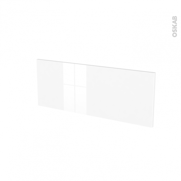 Façades de cuisine - Face tiroir N°38 - STECIA Blanc - L80 x H31 cm