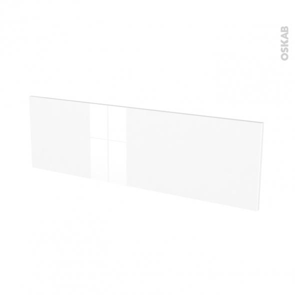 Façades de cuisine - Face tiroir N°40 - STECIA Blanc - L100 x H31 cm