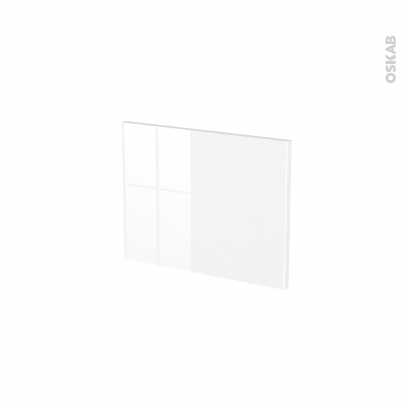 Façades de cuisine - Face tiroir N°6 - STECIA Blanc - L40 x H31 cm