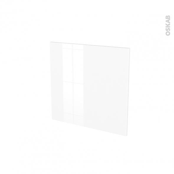Façades de cuisine - Porte N°16 - STECIA Blanc - L60 x H57 cm