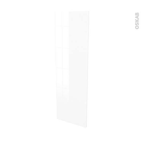 Façades de cuisine - Porte N°26 - STECIA Blanc - L40 x H125 cm