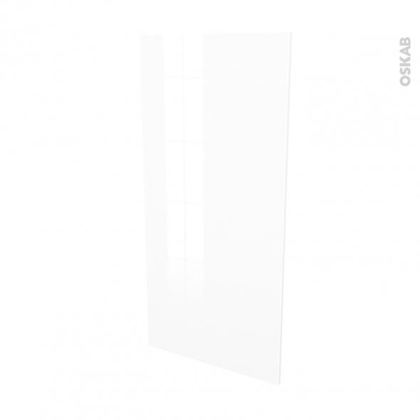 Façades de cuisine - Porte N°27 - STECIA Blanc - L60 x H125 cm
