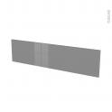 Façades de cuisine - Face tiroir N°41 - STECIA Gris - L100 x H25 cm