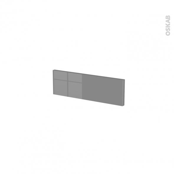 Façades de cuisine - Face tiroir N°1 - STECIA Gris - L40 x H13 cm
