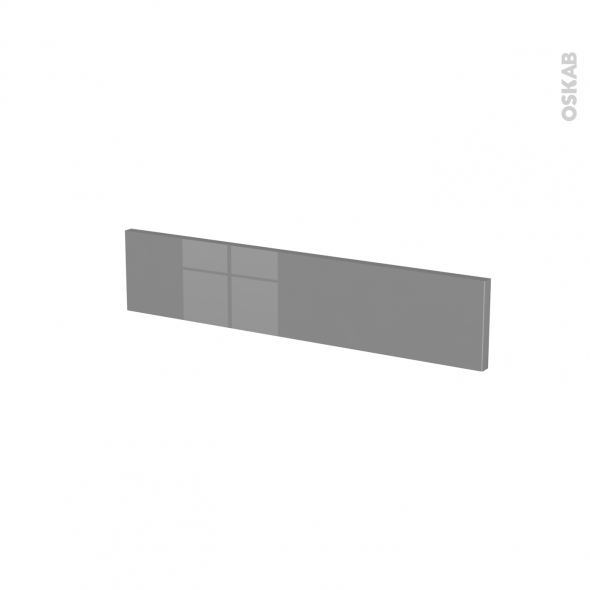 Façades de cuisine - Face tiroir N°3 - STECIA Gris - L60 x H13 cm