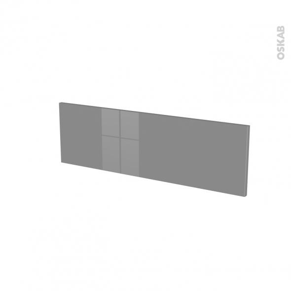 Façades de cuisine - Face tiroir N°39 - STECIA Gris - L80 x H25 cm