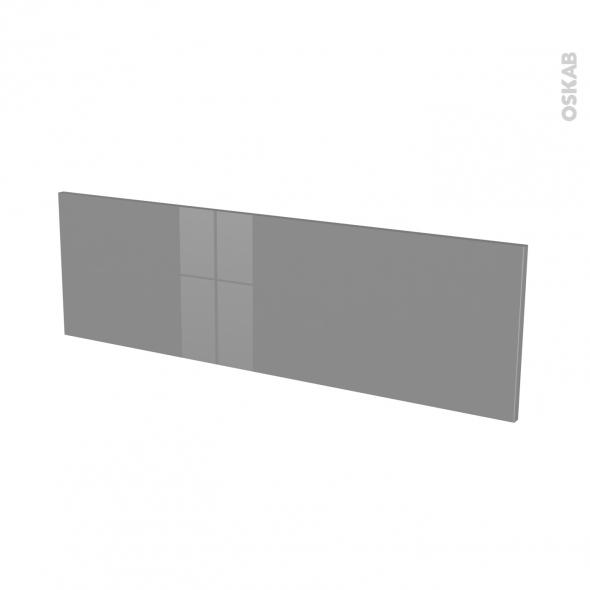 Façades de cuisine - Face tiroir N°40 - STECIA Gris - L100 x H31 cm