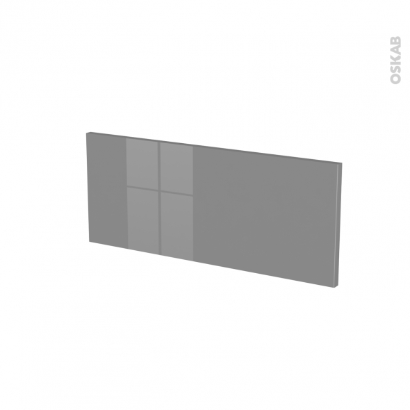 Façades de cuisine - Face tiroir N°5 - STECIA Gris - L60 x H25 cm