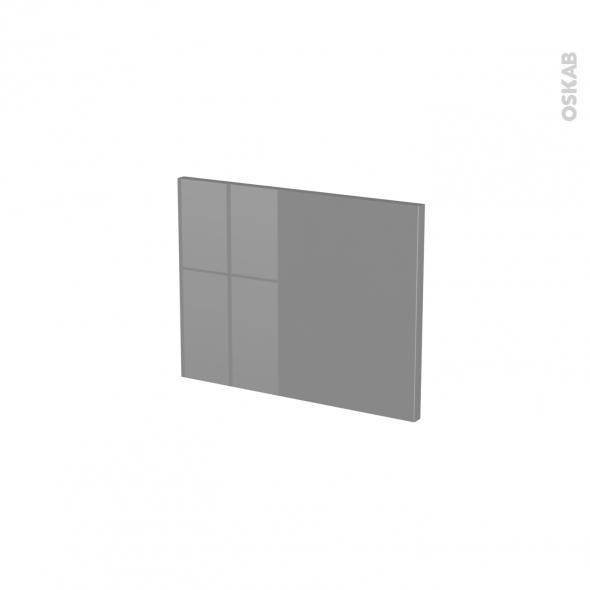 Façades de cuisine - Face tiroir N°6 - STECIA Gris - L40 x H31 cm
