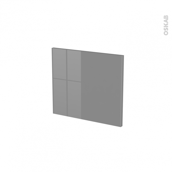 Façades de cuisine - Face tiroir N°9 - STECIA Gris - L40 x H35 cm