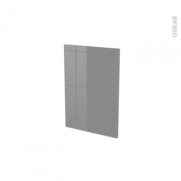 Façades de cuisine - Porte N°14 - STECIA Gris - L40 x H57 cm