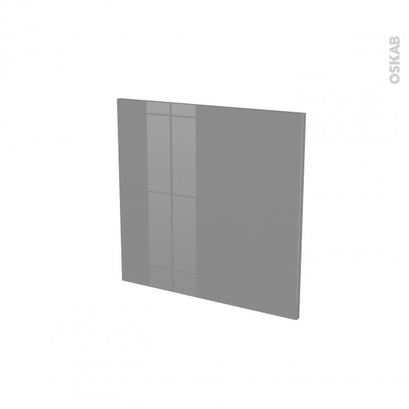 Porte lave vaiselle - Intégrable N°16 - STECIA Gris - L60 x H57 cm