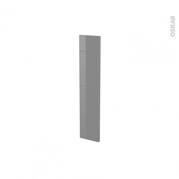 STECIA Gris - porte N°17 - L15xH70