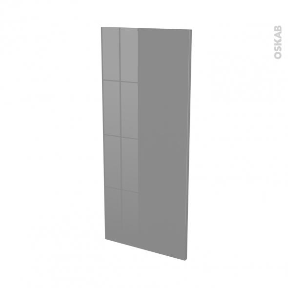 Façades de cuisine - Porte N°23 - STECIA Gris - L40 x H92 cm