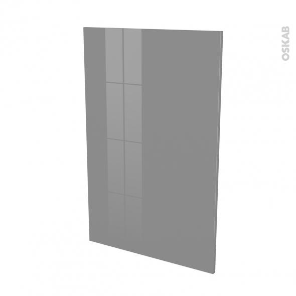 Façades de cuisine - Porte N°24 - STECIA Gris - L60 x H92 cm