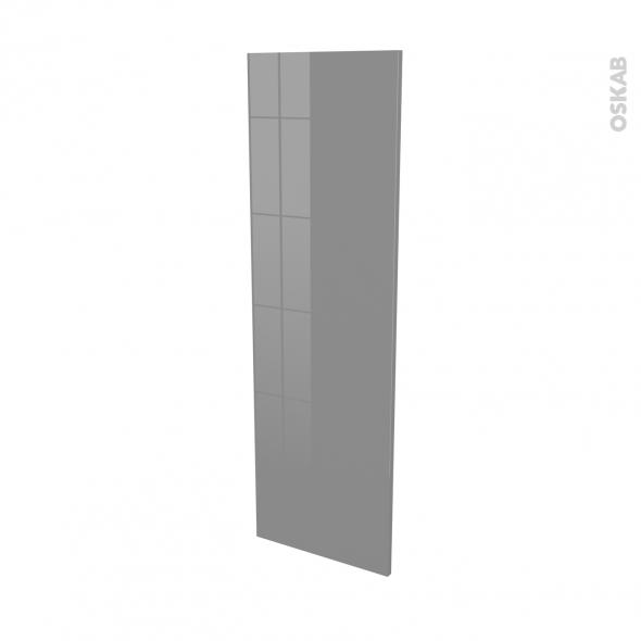 Façades de cuisine - Porte N°26 - STECIA Gris - L40 x H125 cm