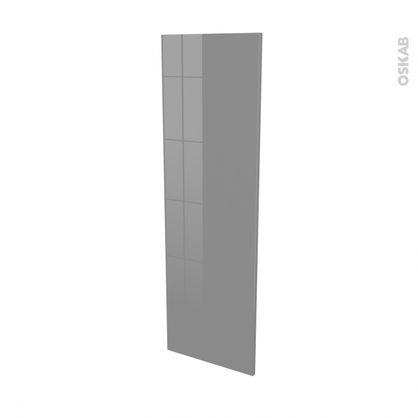 STECIA Gris - porte N°26 - L40xH125