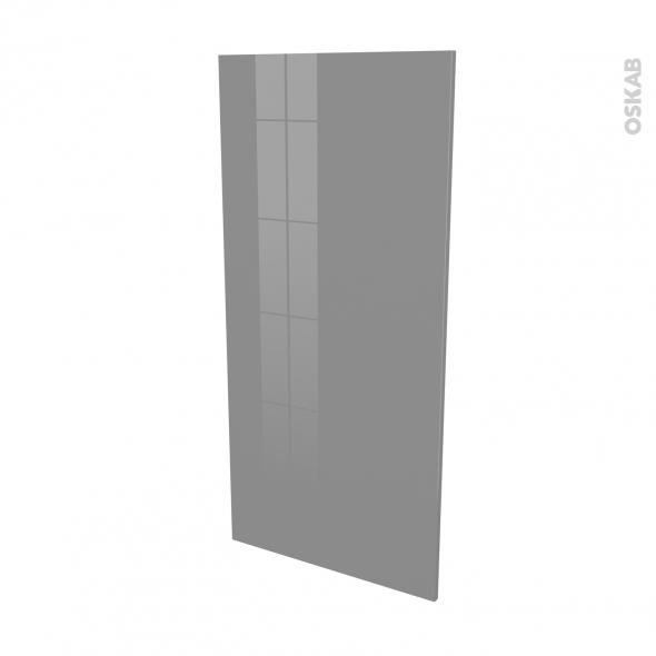 Façades de cuisine - Porte N°27 - STECIA Gris - L60 x H125 cm