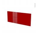 Façades de cuisine - Face tiroir N°11 - STECIA Rouge - L80 x H35 cm