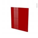 Façades de cuisine - Porte N°21 - STECIA Rouge - L60 x H70 cm