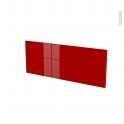 Façades de cuisine - Face tiroir N°38 - STECIA Rouge - L80 x H31 cm