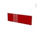 Façades de cuisine - Face tiroir N°39 - STECIA Rouge - L80 x H25 cm