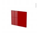 STECIA Rouge - face tiroir N°9 - L40xH35