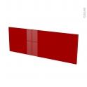 Façades de cuisine - Porte N°12 - STECIA Rouge - L100 x H35 cm
