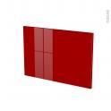 Façades de cuisine - Porte N°13 - STECIA Rouge - L60 x H41 cm