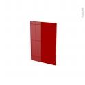 STECIA Rouge - porte N°14 - L40xH57