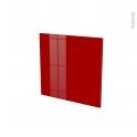 Façades de cuisine - Porte N°16 - STECIA Rouge - L60 x H57 cm