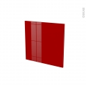 STECIA Rouge - porte N°16 - L60xH57
