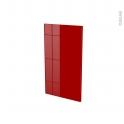 Façades de cuisine - Porte N°19 - STECIA Rouge - L40 x H70 cm