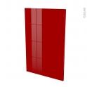 Façades de cuisine - Porte N°24 - STECIA Rouge - L60 x H92 cm