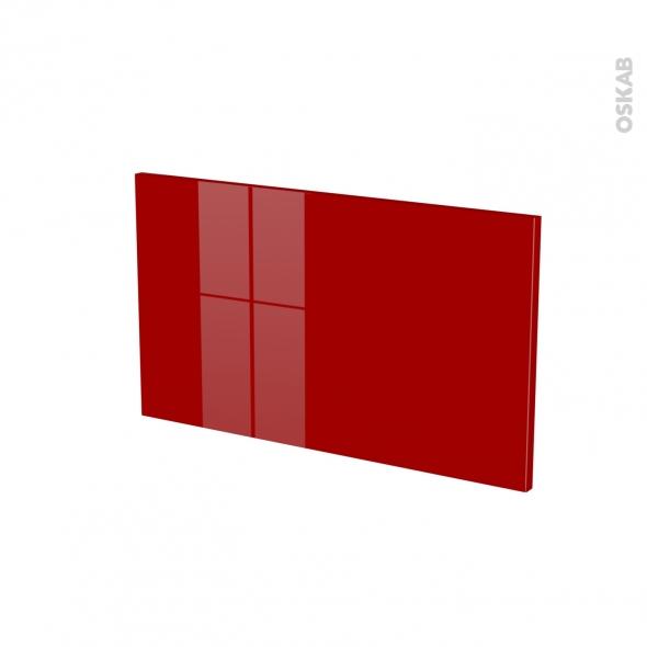 Façades de cuisine - Face tiroir N°10 - STECIA Rouge - L60 x H35 cm