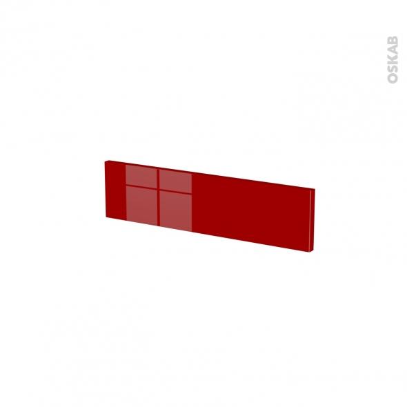 Façades de cuisine - Face tiroir N°2 - STECIA Rouge - L50 x H13 cm