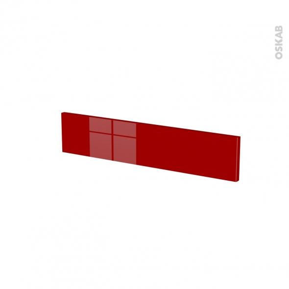 Façades de cuisine - Face tiroir N°3 - STECIA Rouge - L60 x H13 cm