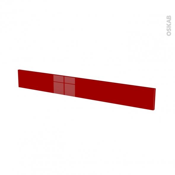 STECIA Rouge - face tiroir N°43 - L100xH13