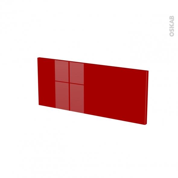 Façades de cuisine - Face tiroir N°5 - STECIA Rouge - L60 x H25 cm