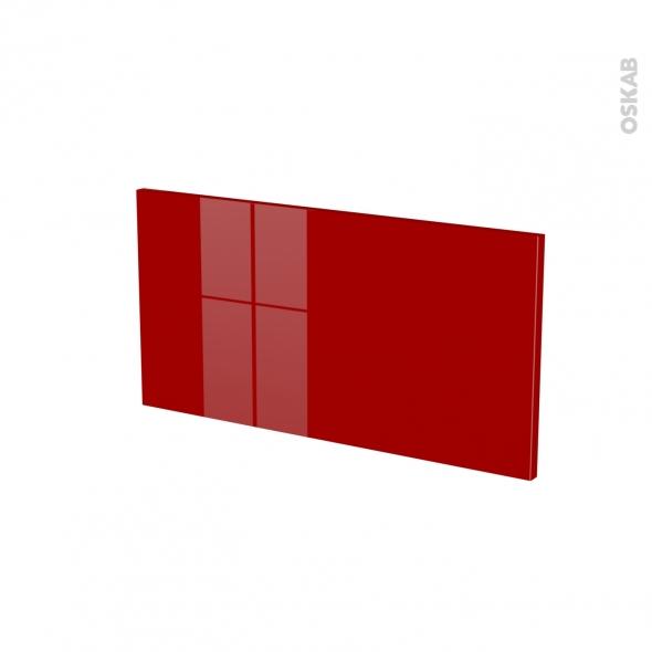 Façades de cuisine - Face tiroir N°8 - STECIA Rouge - L60 x H31 cm