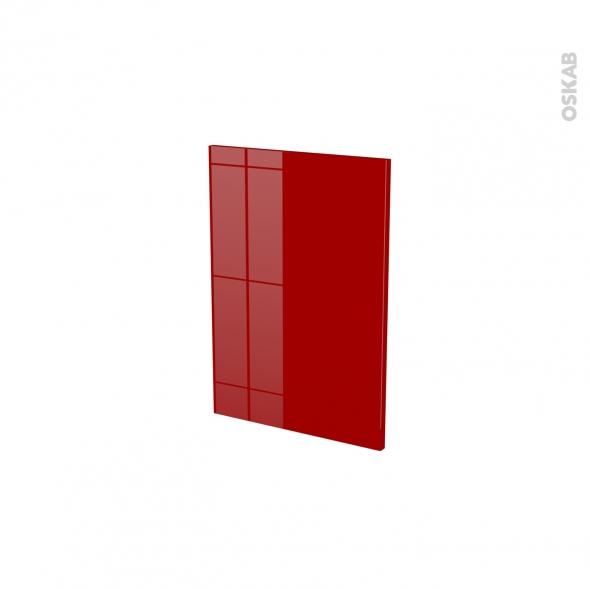 Façades de cuisine - Porte N°14 - STECIA Rouge - L40 x H57 cm