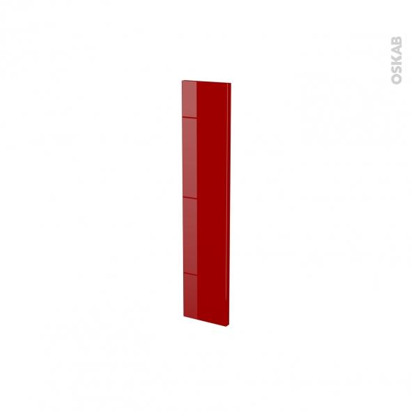 Façades de cuisine - Porte N°17 - STECIA Rouge - L15 x H70 cm