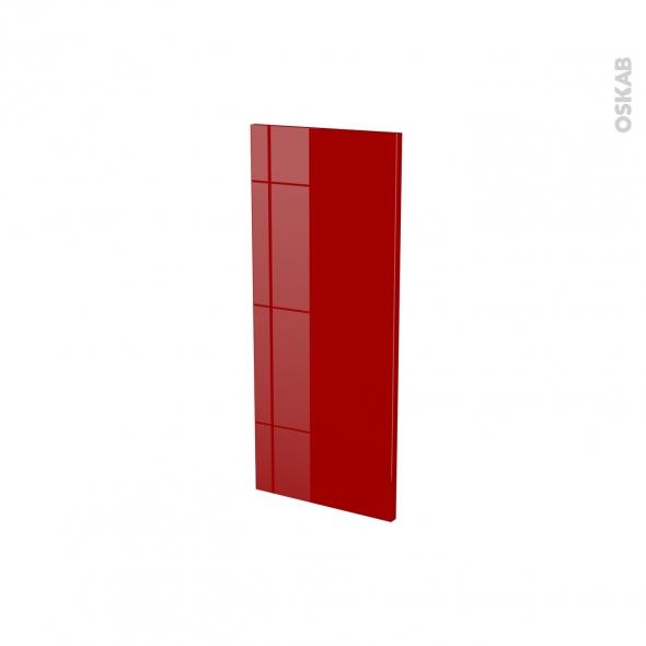 Façades de cuisine - Porte N°18 - STECIA Rouge - L30 x H70 cm