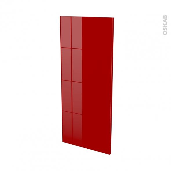 Façades de cuisine - Porte N°23 - STECIA Rouge - L40 x H92 cm