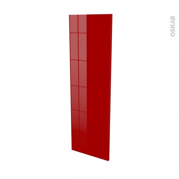 Façades de cuisine - Porte N°26 - STECIA Rouge - L40 x H125 cm