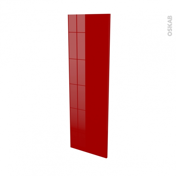 STECIA Rouge - porte N°26 - L40xH125