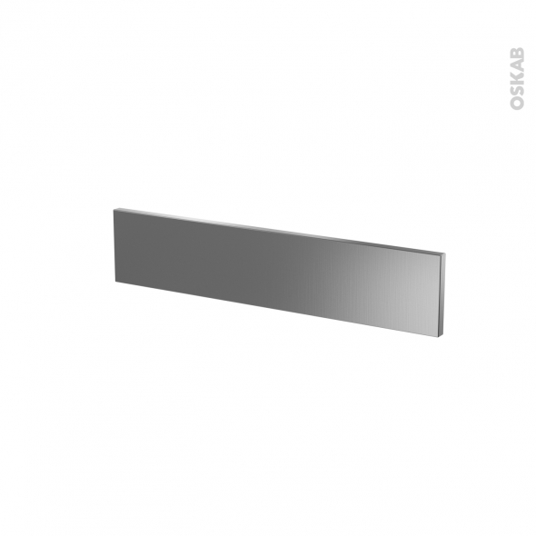 STILO Inox - face tiroir N°3 - L60xH13