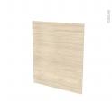 Façades de cuisine - Porte N°21 - STILO Noyer Blanchi - L60 x H70 cm