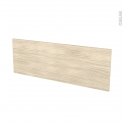 Façades de cuisine - Porte N°12 - STILO Noyer Blanchi - L100 x H35 cm