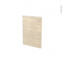 Façades de cuisine - Porte N°14 - STILO Noyer Blanchi - L40 x H57 cm
